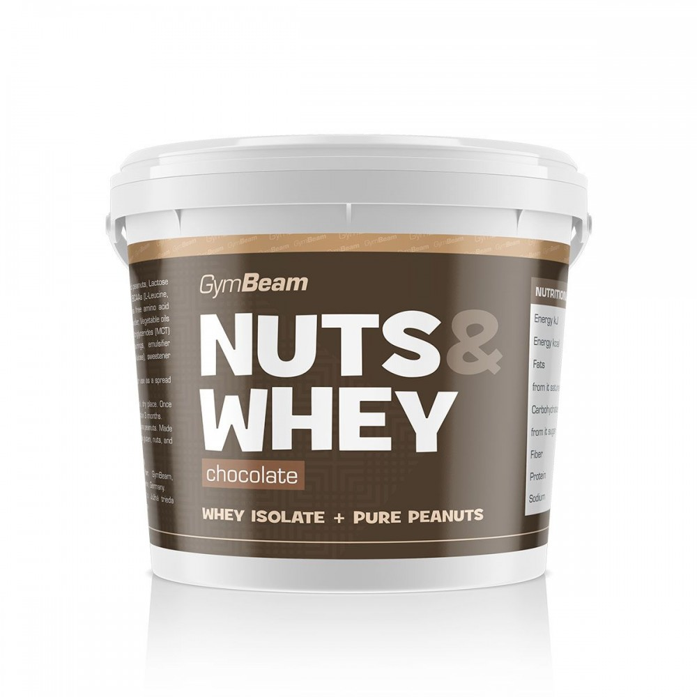 Nuts and Whey 1000 g - GymBeam