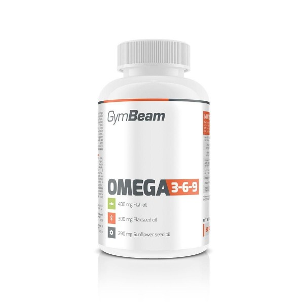 Omega 3-6-9 60 kapsúl - GymBeam
