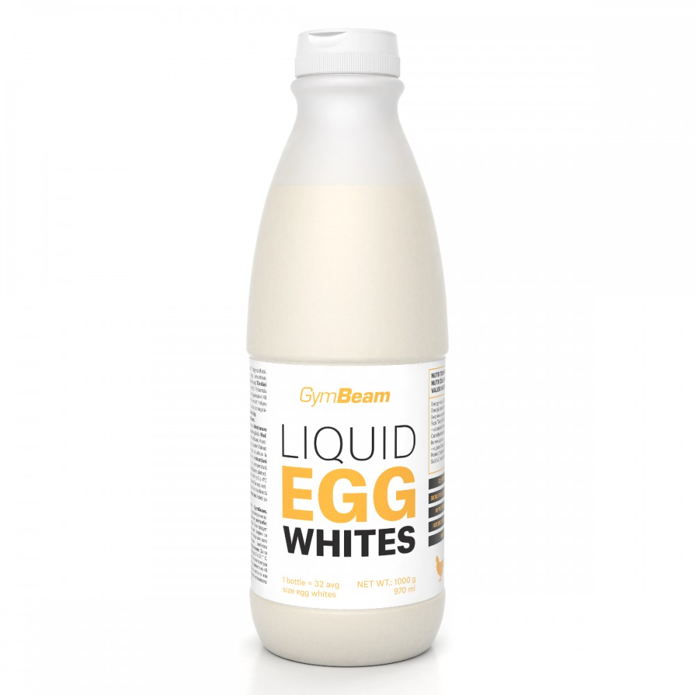 Vaječné bielka Liquid Egg Whites  1000 g - GymBeam