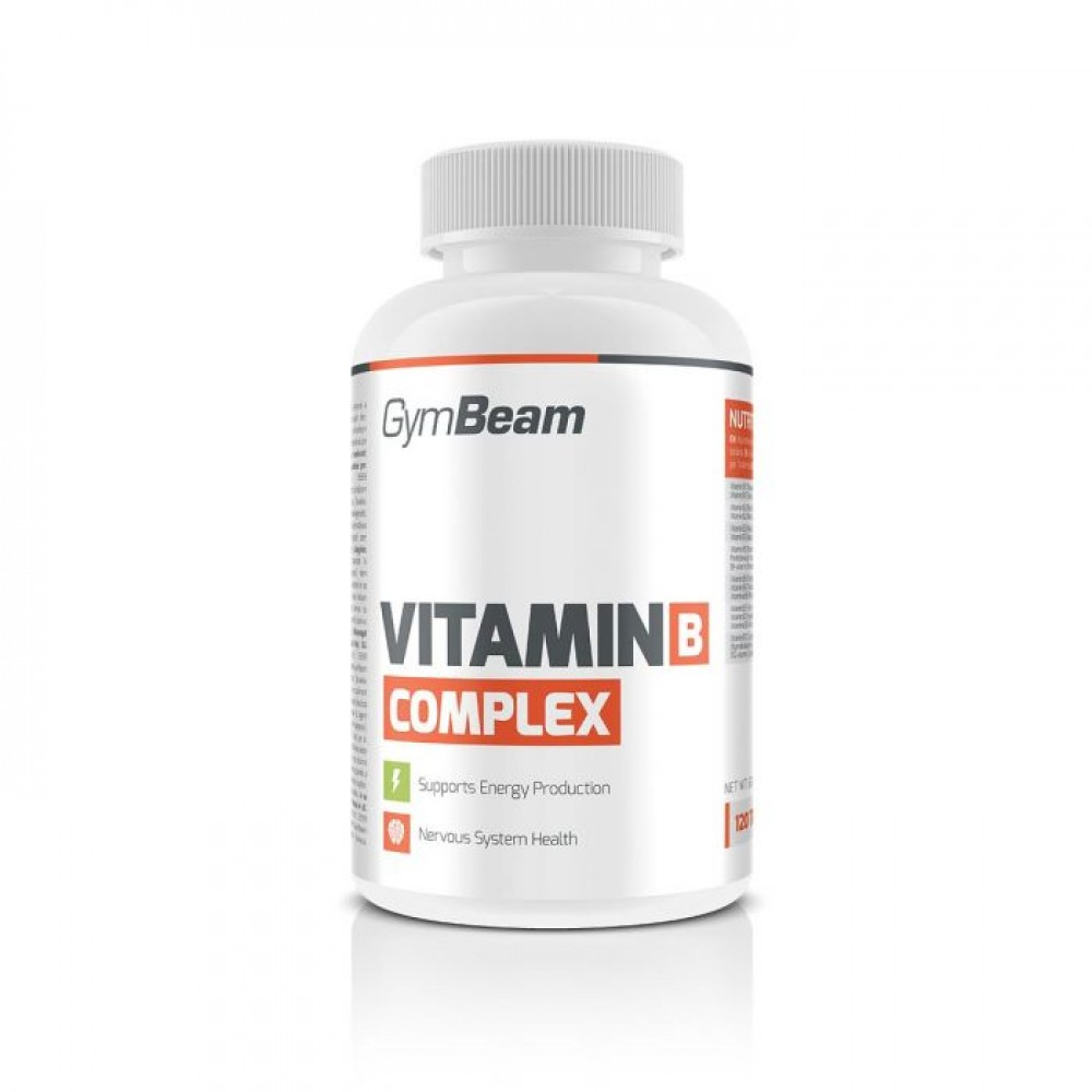 Vitamín B-Complex 120 tabliet - GymBeam