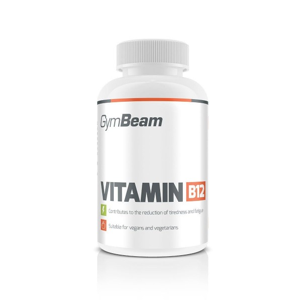 Vitamín B12 90 tabliet - GymBeam