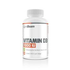Vitamín D3 1000 IU 60 kapsúl - GymBeam