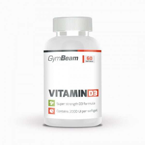 Vitamin D3 2000 IU 120 kapsúl - GymBeam
