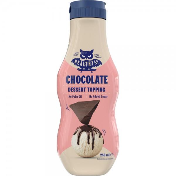 Dessert Topping čokoláda 250 ml - HealthyCo