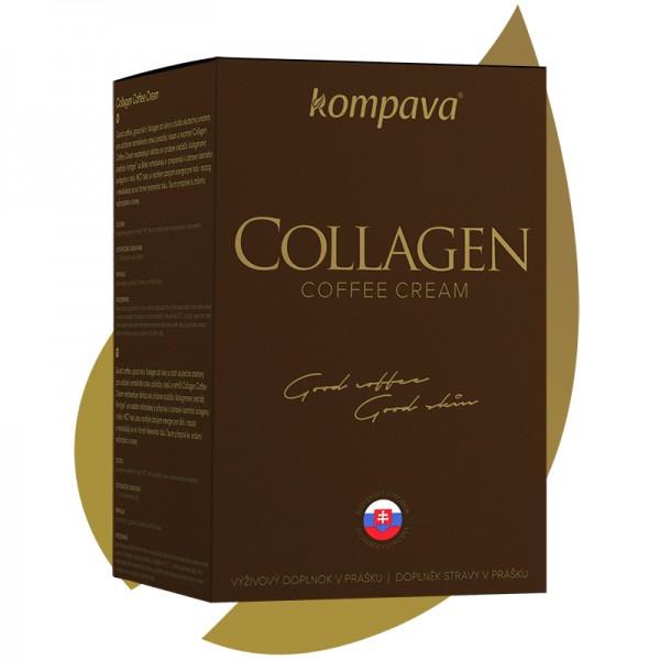 Collagen Coffee Cream 300 g - Kompava