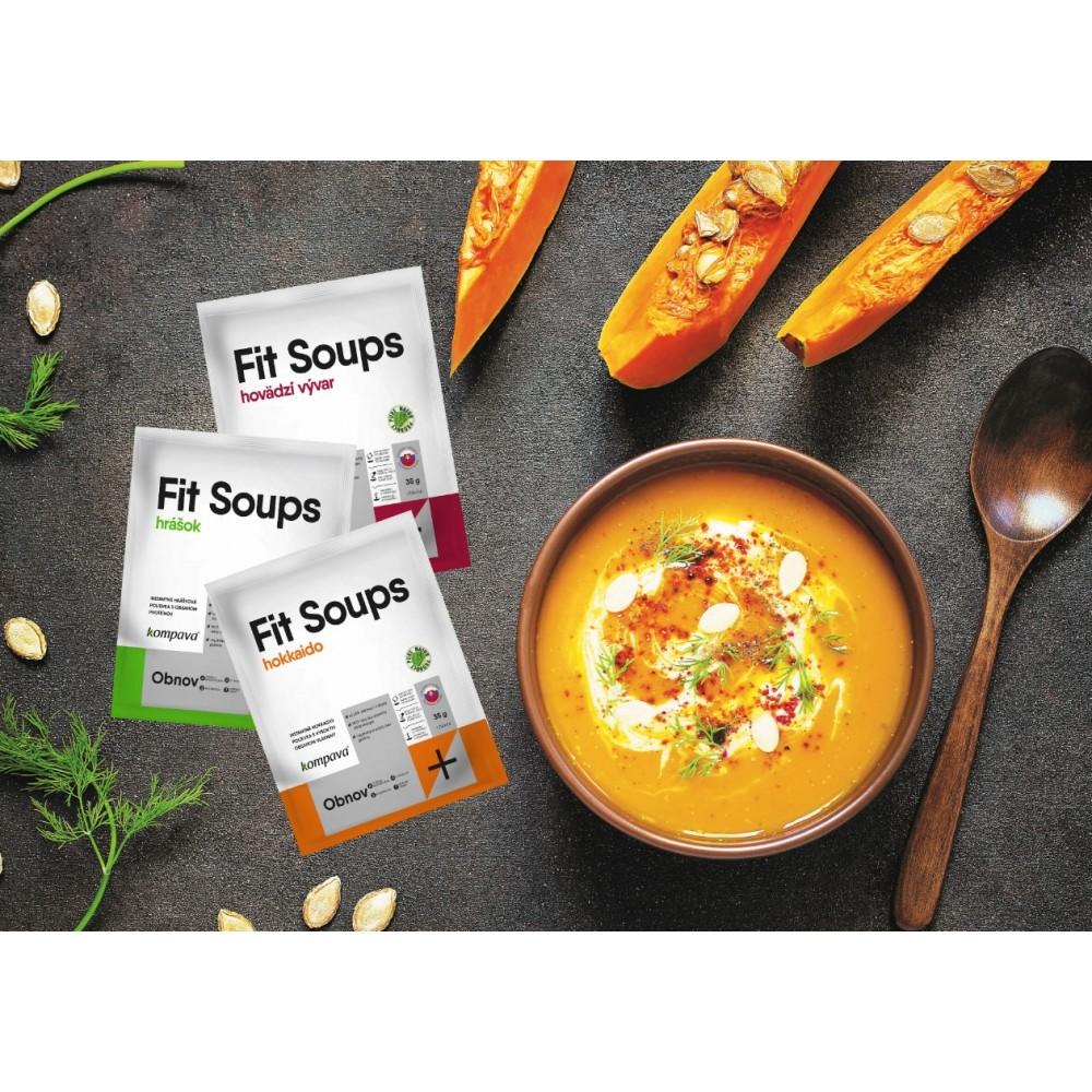 Fit Soups 6x 35 g - Kompava
