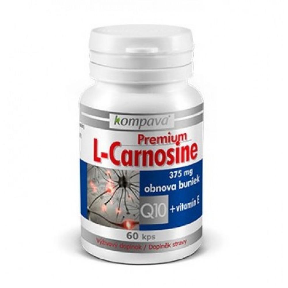 Premium L-Carnosine 60 kapsúl - Kompava