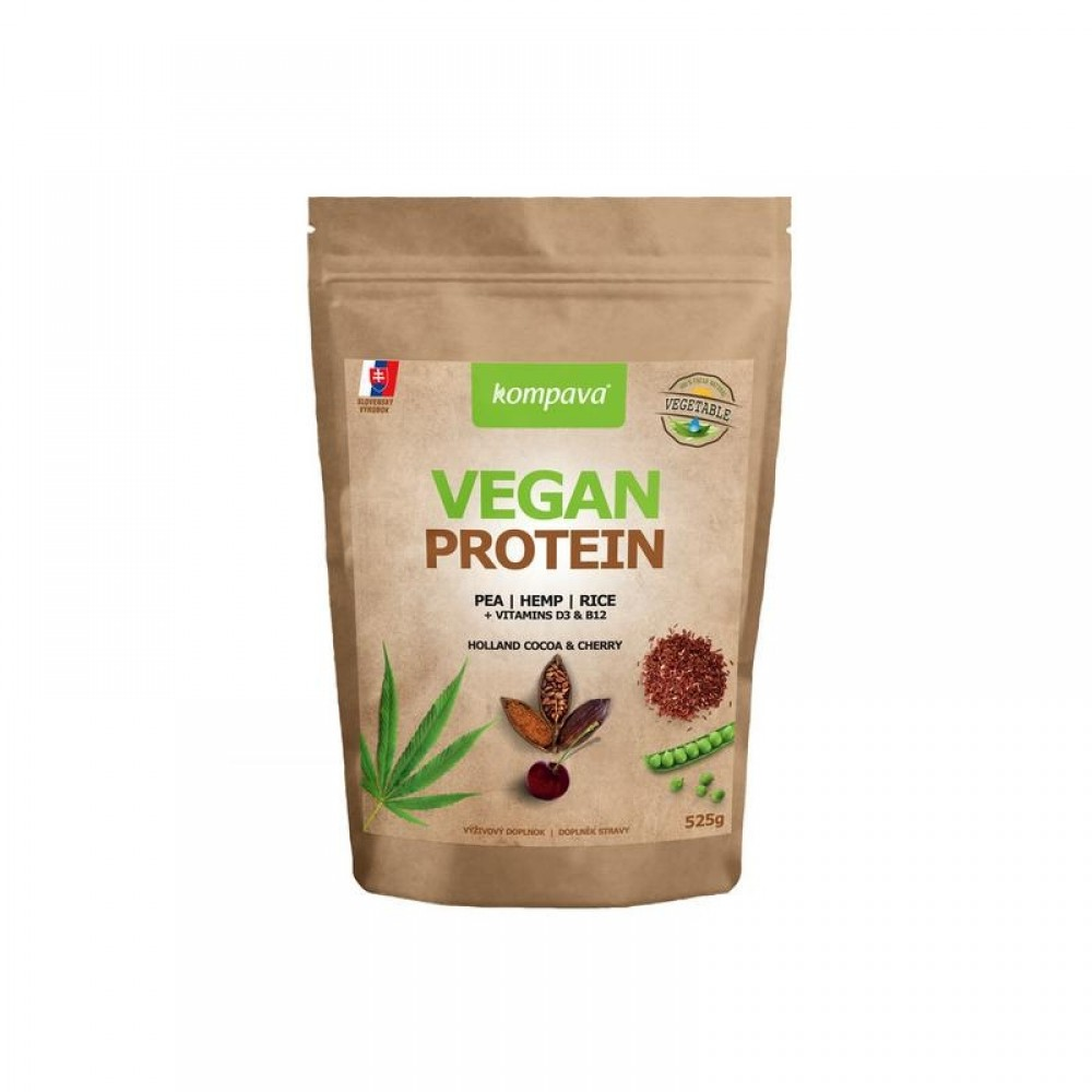 Vegan Protein 525 g - Kompava