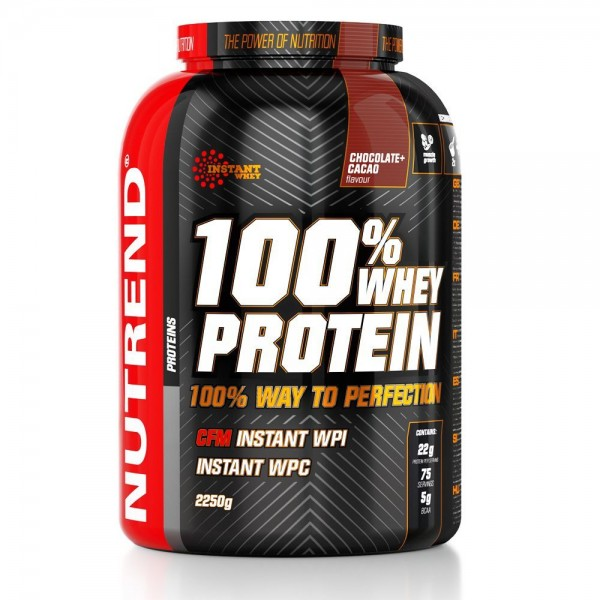 100% Whey Protein 2250 g - Nutrend