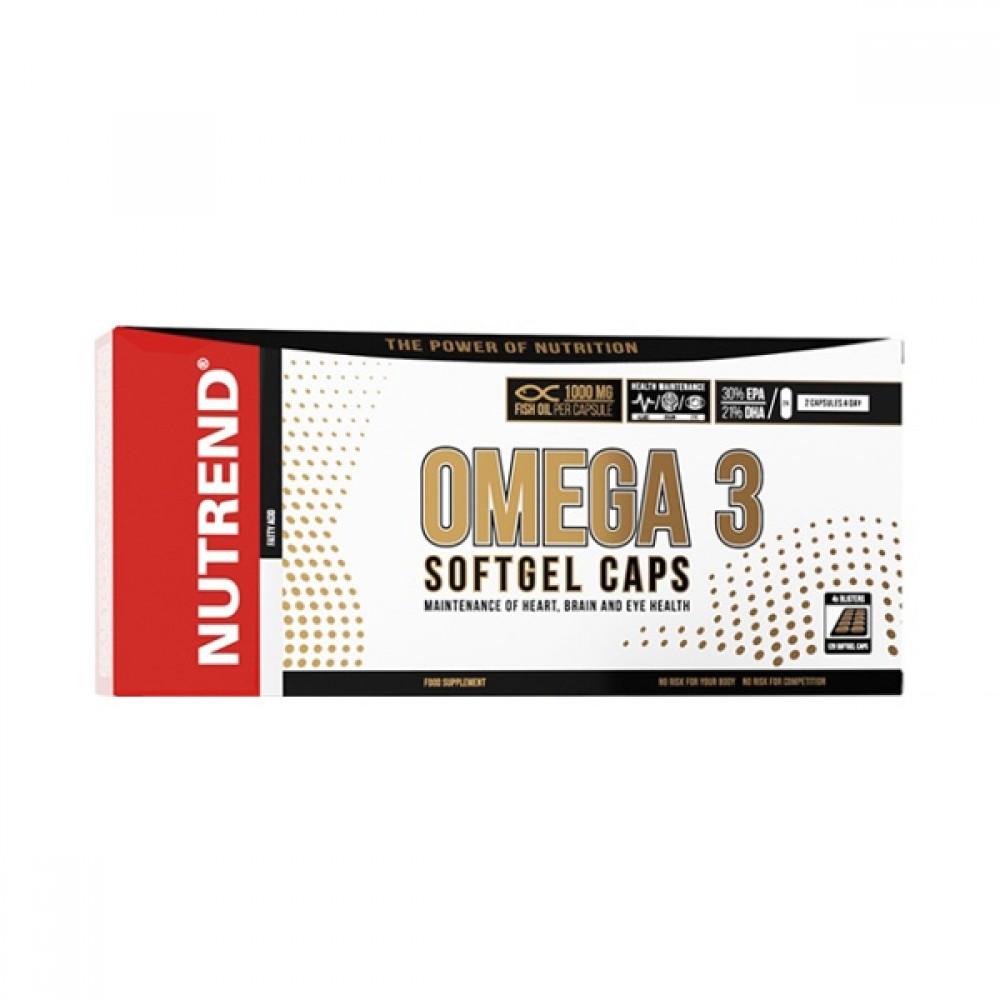 Omega 3 plus softgel caps 120 kapsúl - Nutrend