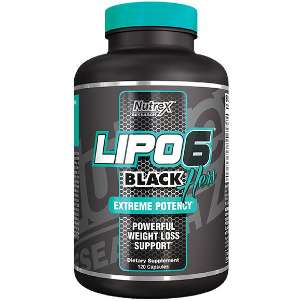 Lipo 6 Black Hers International 120 tabliet - Nutrex