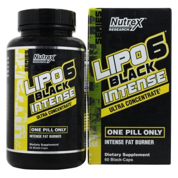 Lipo 6 Black UC Intense 60 tabliet - Nutrex
