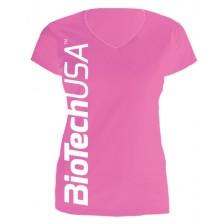 Dámske tričko ružové - Biotech USA