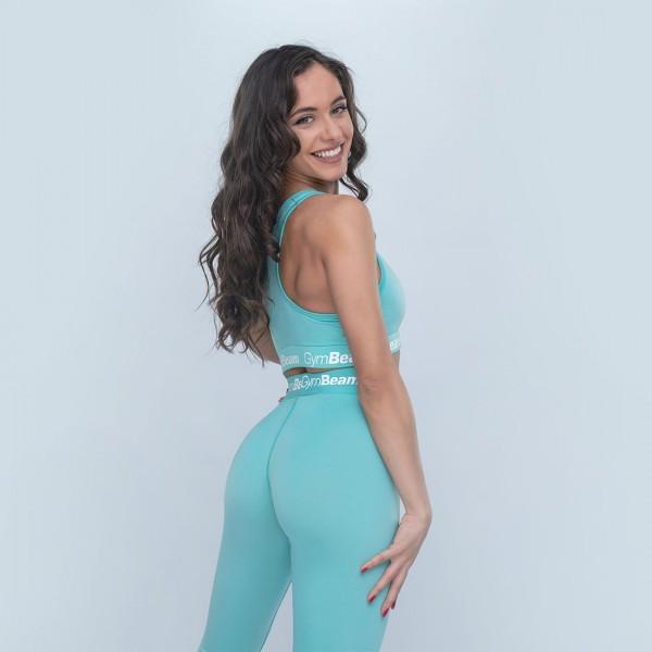 Dámske legíny Simple Turquoise - GymBeam