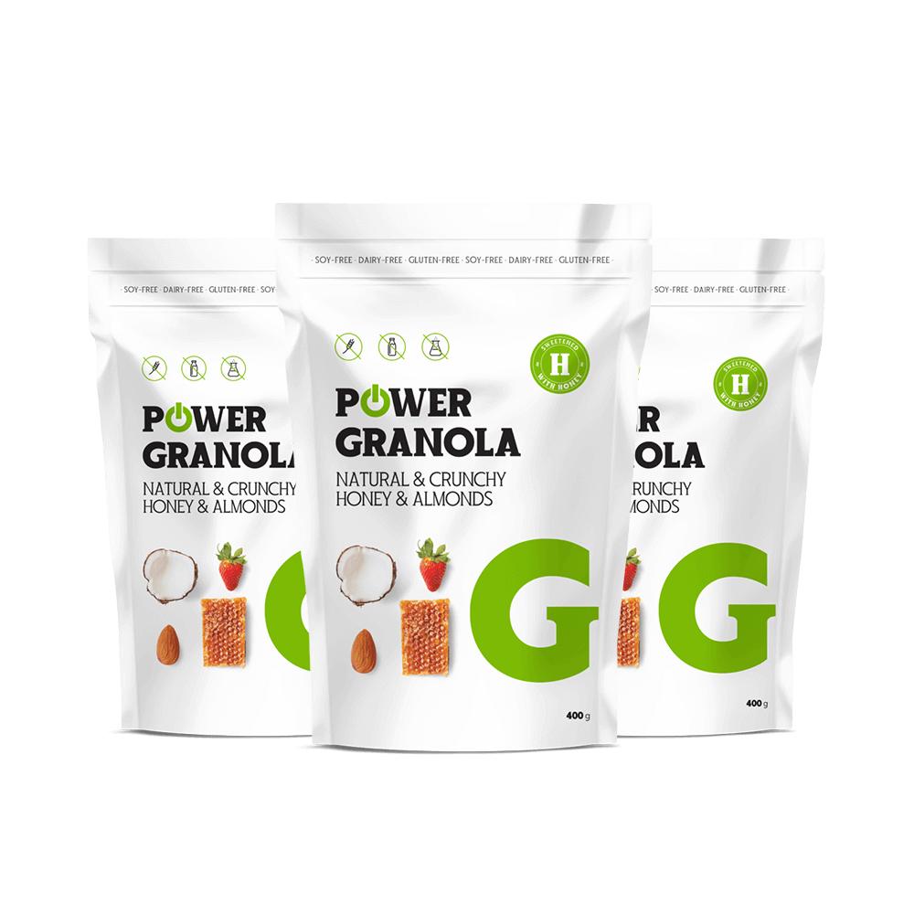 Power Granola 400 g - Powerlogy