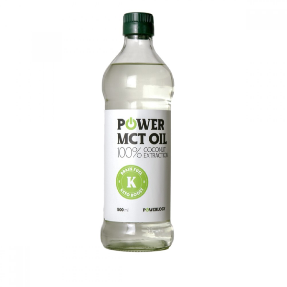 Power MCT Oil 500 ml - Powerlogy