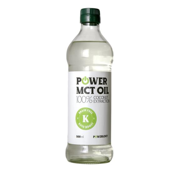 Power MCT Oil 500 ml - Powerlogy