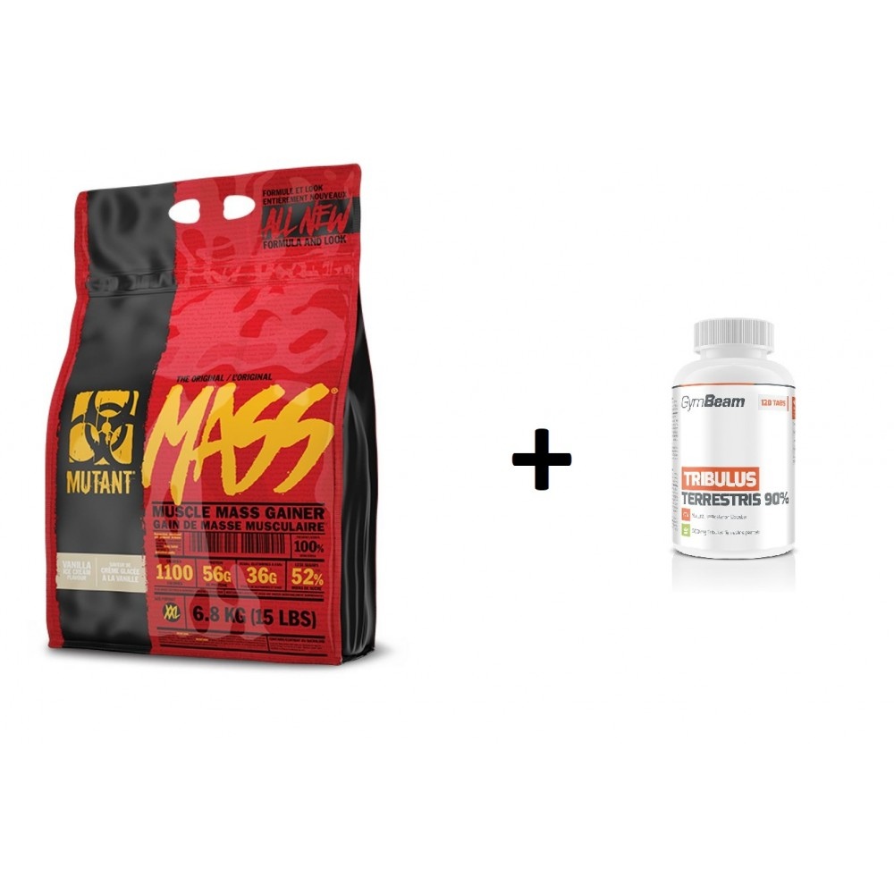 Mutant Mass 6800 g + Tribulus Terrestris 120 tabliet ZADARMO - PVL