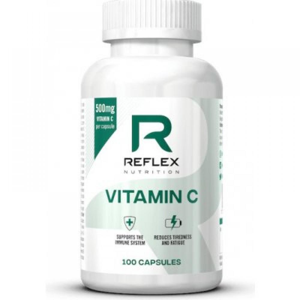 Vitamin C 500mg 100 kapsúl - Reflex Nutrition