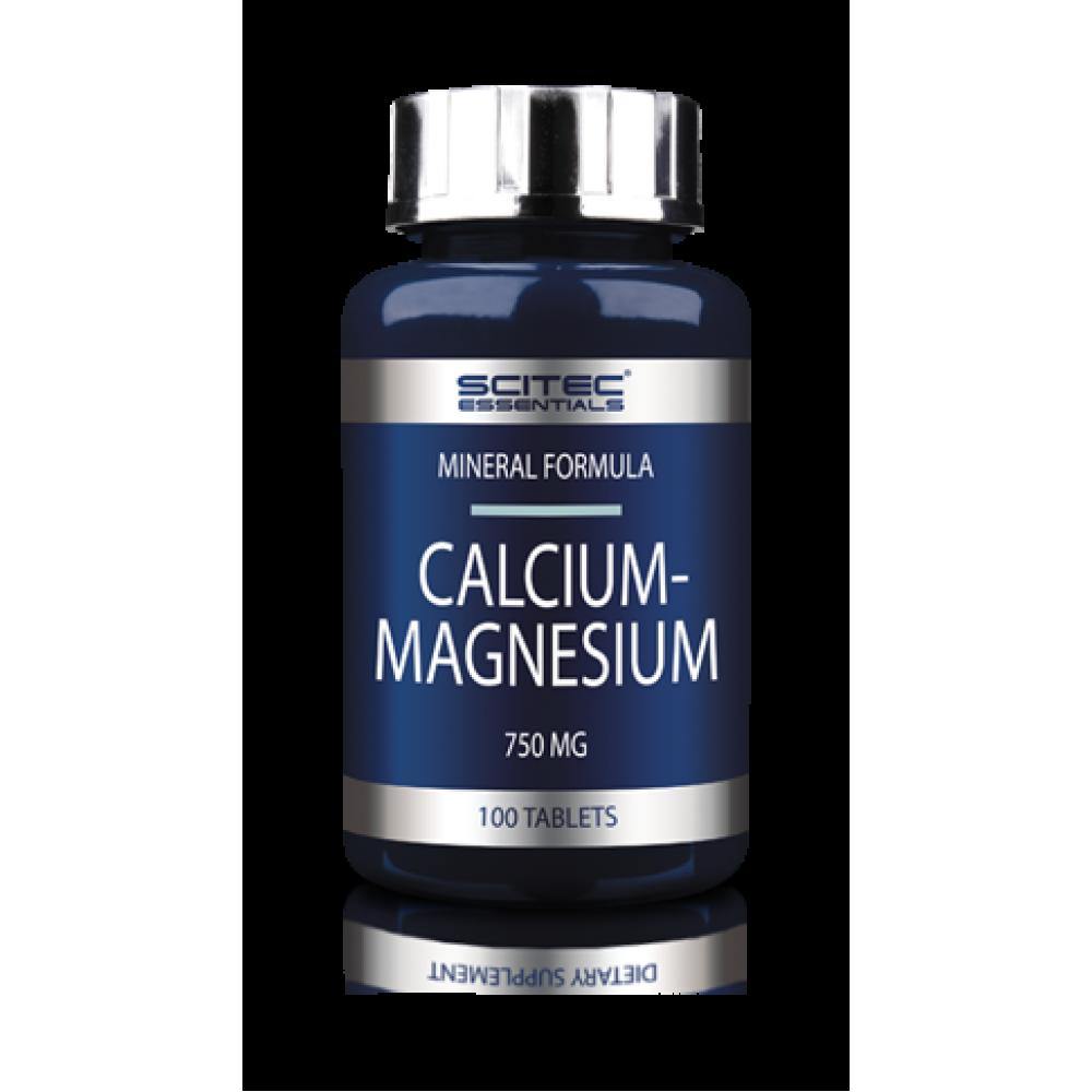 Calcium - Magnesium 100 tabliet - Scitec Nutrition