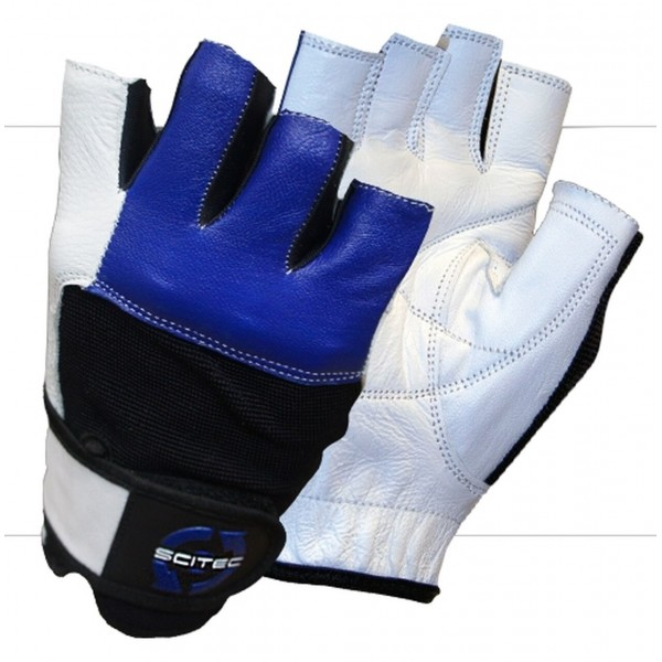 Fitness rukavice Blue Style - Scitec Nutrition