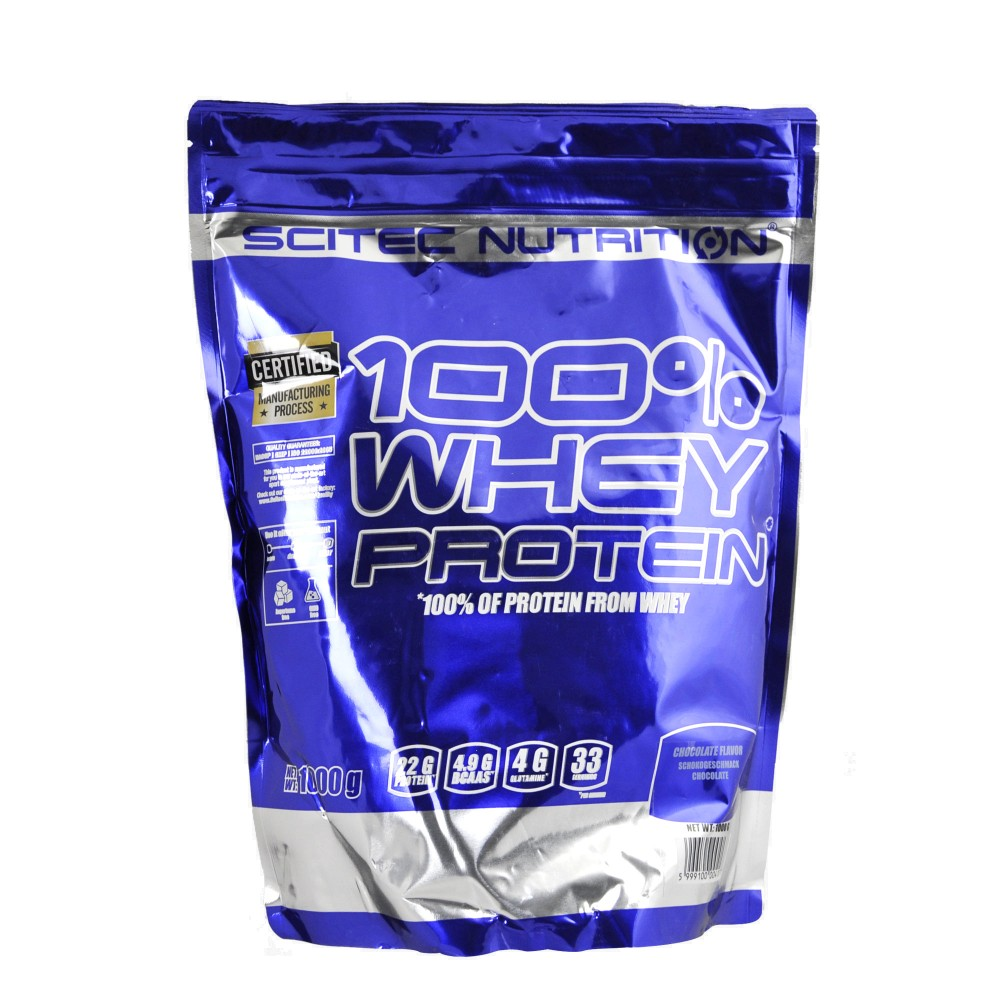 100% whey protein 1000 g - Scitec Nutrition