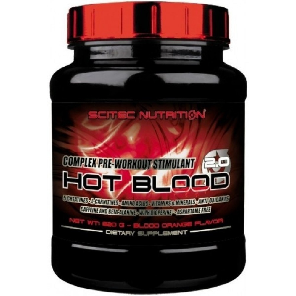 Hot Blood 3.0 820 g - Scitec Nutrition