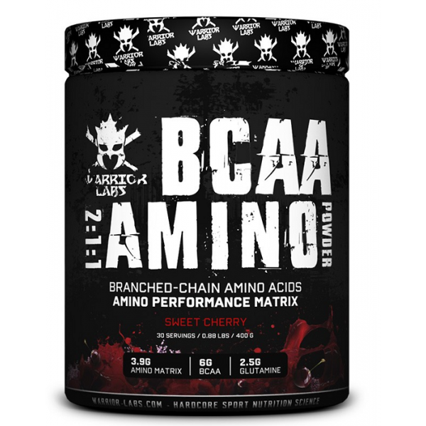 BCAA Amino Powder 400 g - Warrior labs