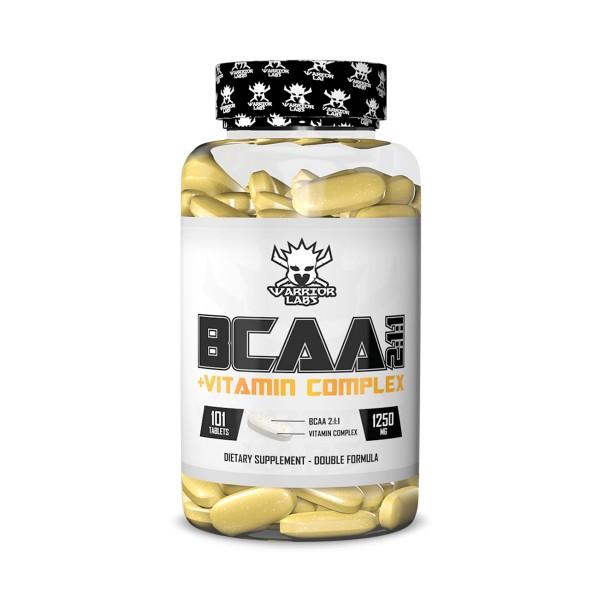 BCAA + Vitamin Complex 101 tabliet - Warrior labs