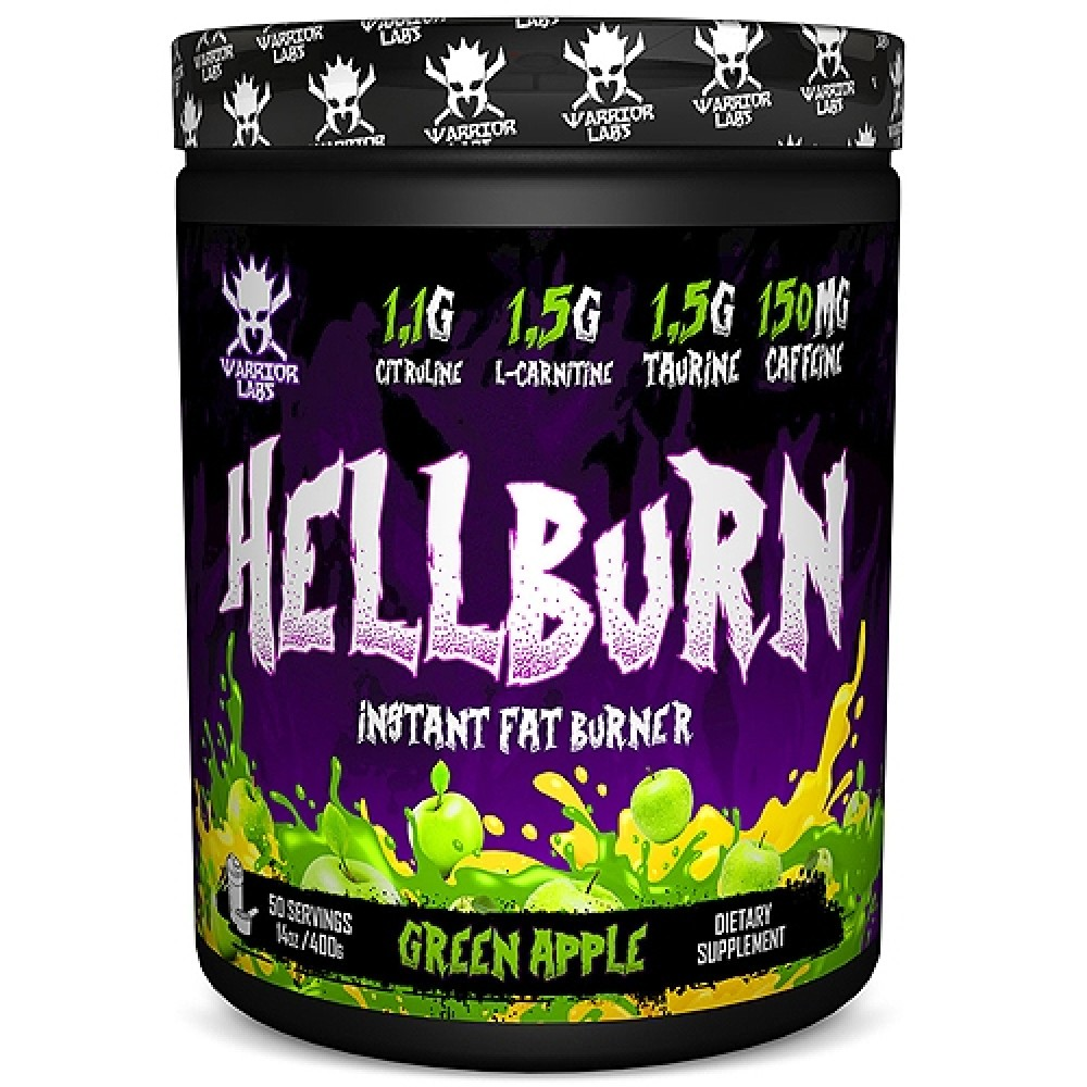 HellBurn 400 g - Warrior labs