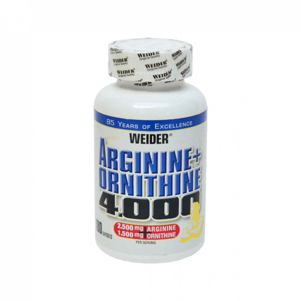 Arginine + Ornithine 4000 180 tabliet - Weider