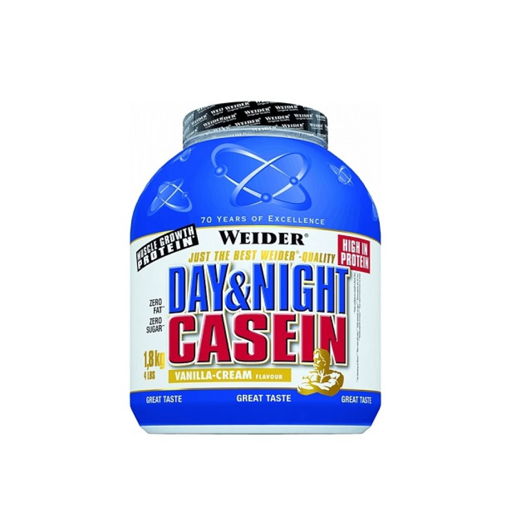 Day and Night Casein 1800 g - Weider