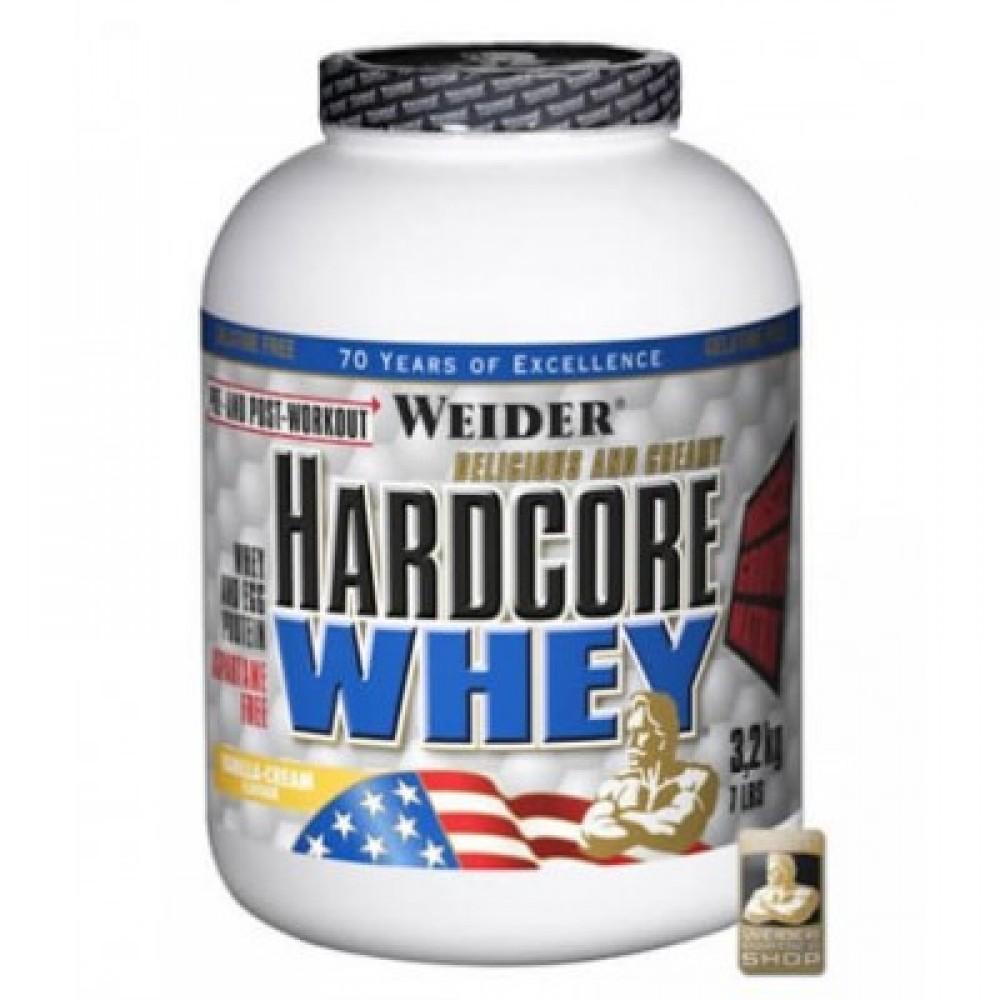 Hardcore Whey Protein 3200 g - Weider