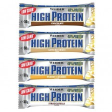 Low Carb High Protein Bar 50g - Weider