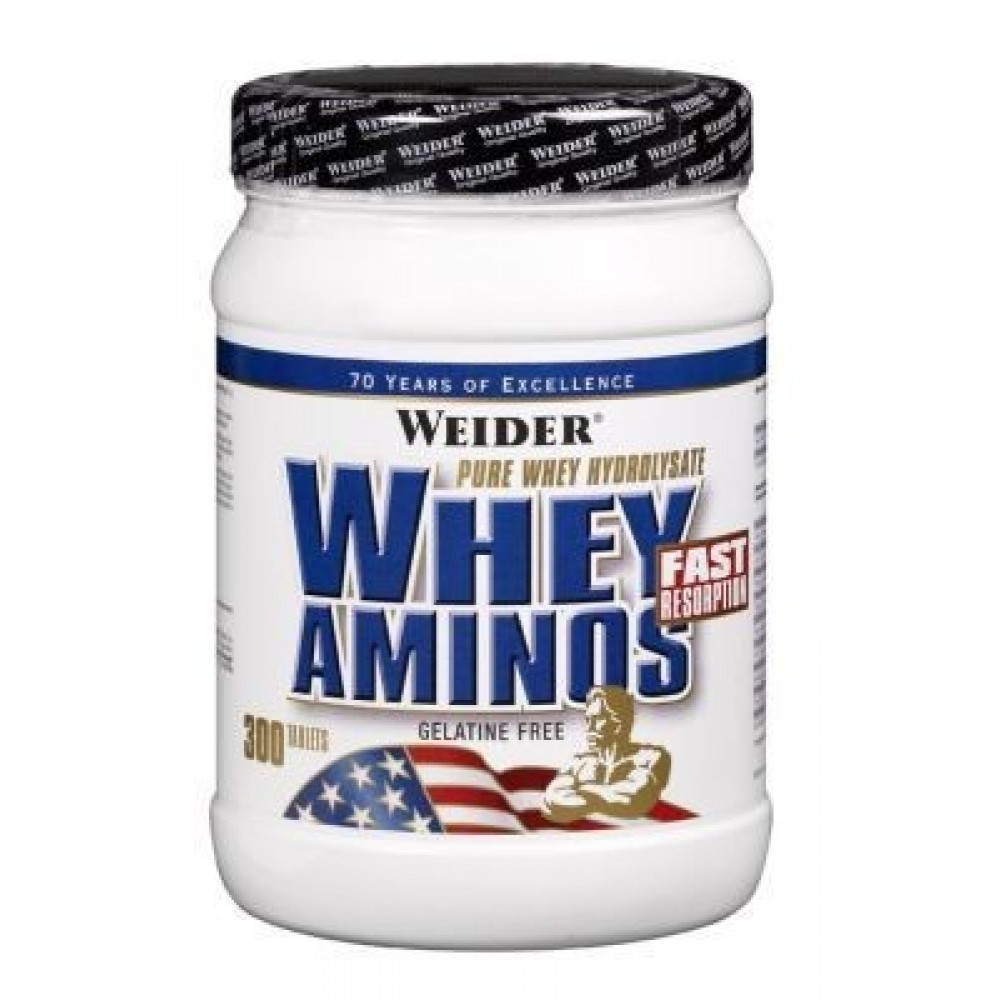 Whey Aminos Caps 300 tabliet - Weider