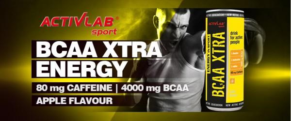 Šport » Športová výživa » Aminokyseliny » ActivLab BCAA Xtra Energy In Sport 250 ml Fit Life