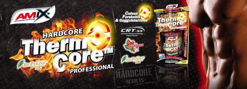 Amix ThermoCore Professional 90 kapsúl - Spaľovače tukov, športová výživa, doplnky výživy fitlife