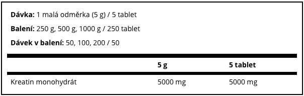 MyProtein Creatine Monohydrate 1000 g - Fit-Life.sk - Športová výživa pre náročných