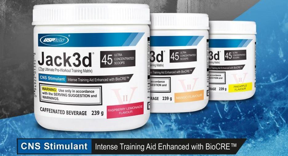 USP Labs Jack3D 248 g fitlife športová výživa energizéry predtréningovky